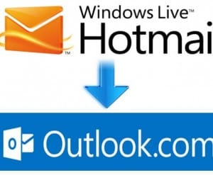 Hotmail and Outlook down, or login problems