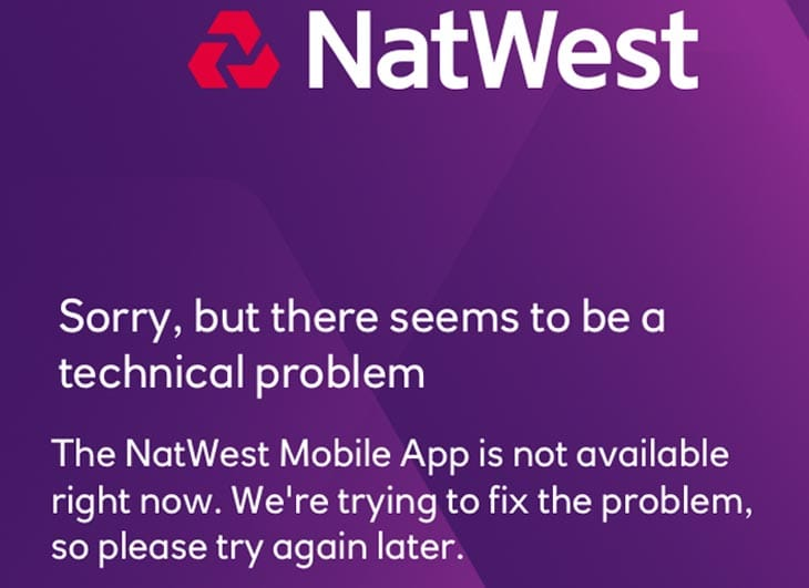 Natwest app down