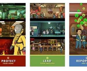Fallout Shelter app freezing problems