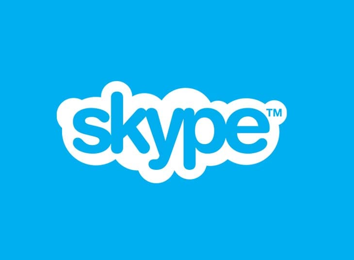 Skype-status
