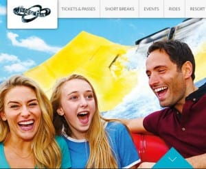 Thorpe Park website down for maintenance