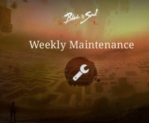 Blade and Soul Maintenance