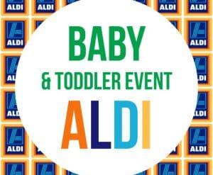 ALDI UK Baby Event