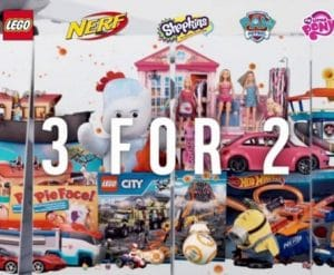 Argos 3 for 2 on Toys