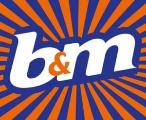 B&M Bargains Clearance Sale