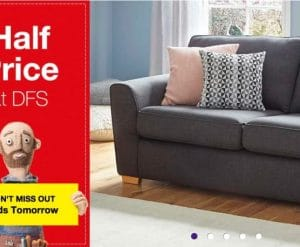 DFS Half Price Sofa Sale