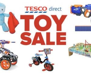 Tesco Half Price Toy Sale