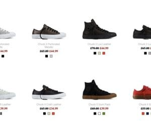 Converse Sale for Mid Season