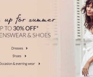 Debenhams Summer Sale