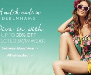 Debenhams Swimwear Sale
