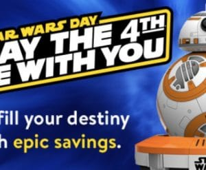 Walmart Star Wars Day Deals