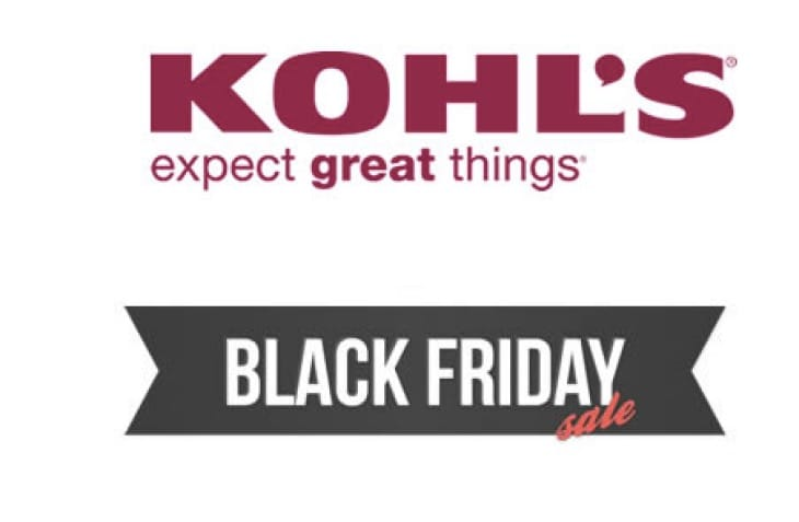 Kohls coupon black friday 2018