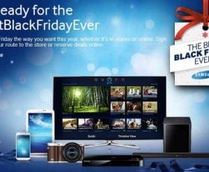Samsung Black Friday deals