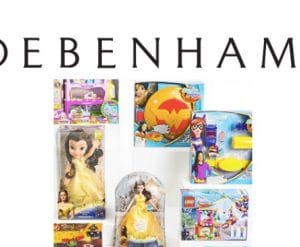 Debenhams Half Price Toy Sale