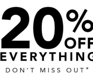 Peacocks 20% Off Sale
