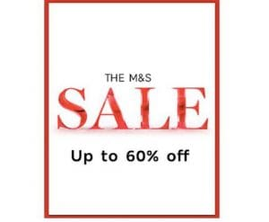 Marks and Spencer 60% Off Sale
