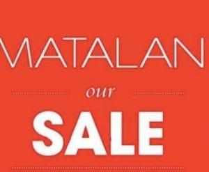 Sales in matalan - Thompson vacations