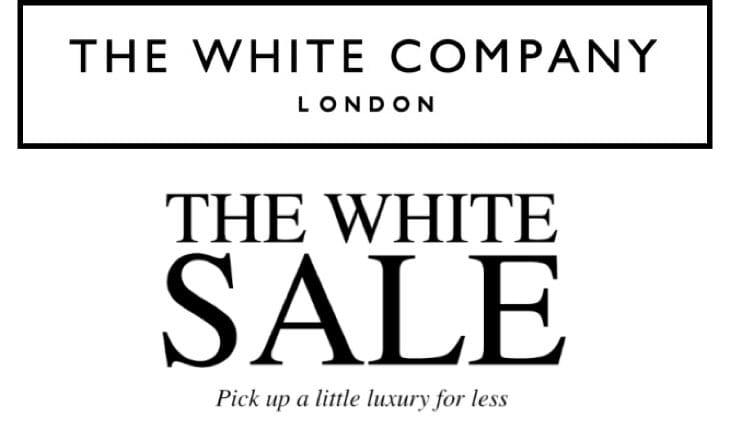 The White Company Sale, Jan 2019
