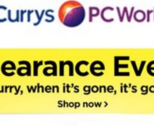 Currys laptop sale