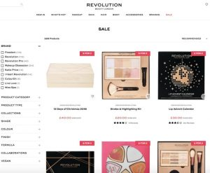Revolution Beauty Sale