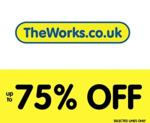 The Works 75% Off Sale