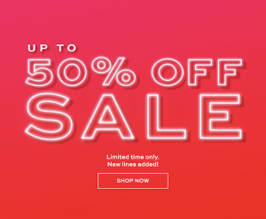 Up to 50% Off Revolution Beauty Sale