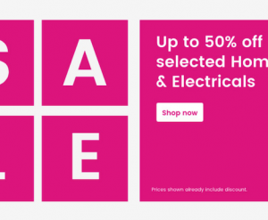Very Home and Electrical Sale