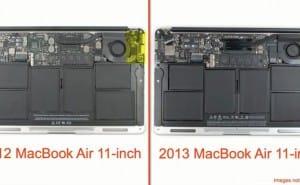 11-inch 2013 MacBook Air specs analyzed from inside