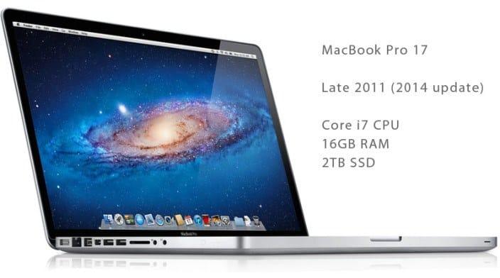 17-inch MacBook Pro 2014