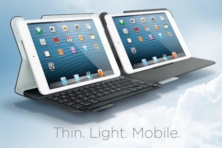 iPad mini: 2 Logitech cases this month