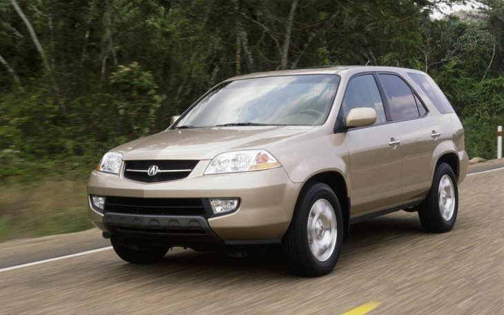 2005 Acura MDX recalled