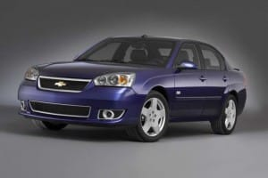 2007 Chevrolet Malibu recall