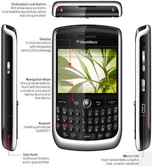 Blackberry javelin