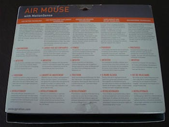 Gyration Air Mouse with Motion Sensor 20