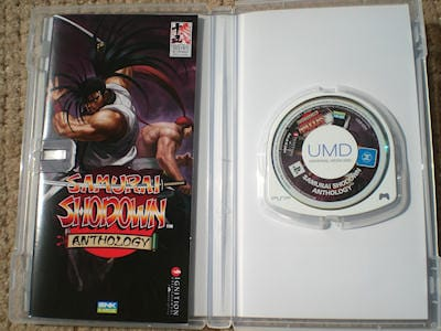 Samurai Shodown Anthology Sony PSP Hand- on 6