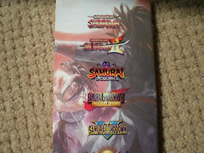 Samurai Shodown Anthology Sony PSP Hand- on