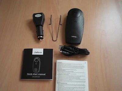 Hands-on Jabra SP200 Drive 'N' Talk Bluetooth Speakerphone 11