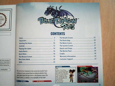 Nintendo DS Blue Dragon Plus Hands-on Review 6