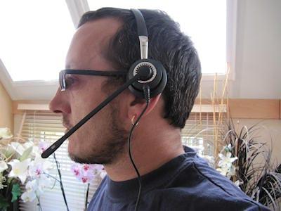 Jabra BIZ 2400 Mono 3-in-1 headset 1