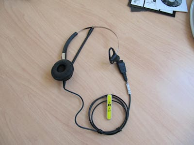 Jabra BIZ 2400 Mono 3-in-1 headset 8