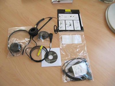 Jabra BIZ 2400 Mono 3-in-1 headset 9