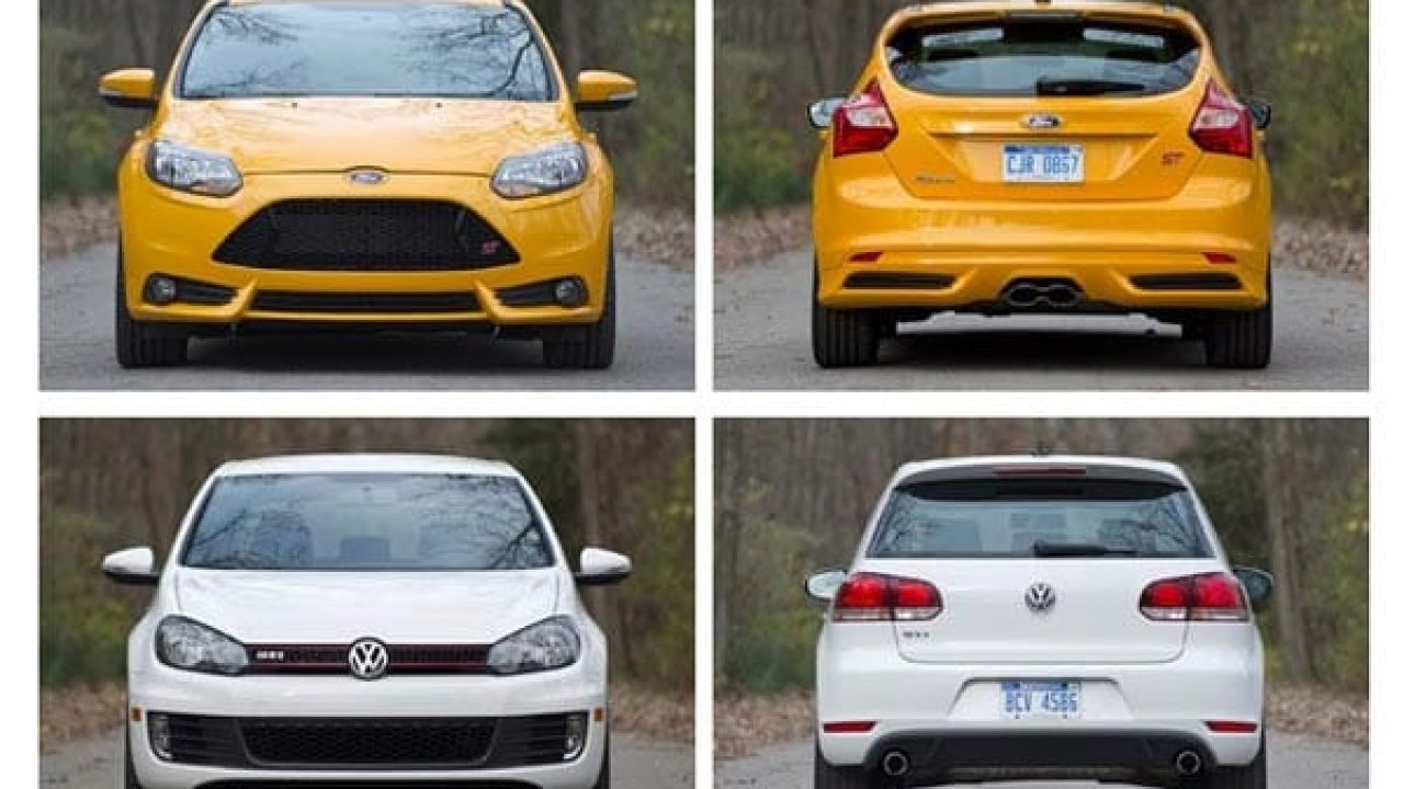 Focus St Vs Gti >> 2012 Volkswagen Gti Vs 2013 Ford Focus St Product Reviews Net