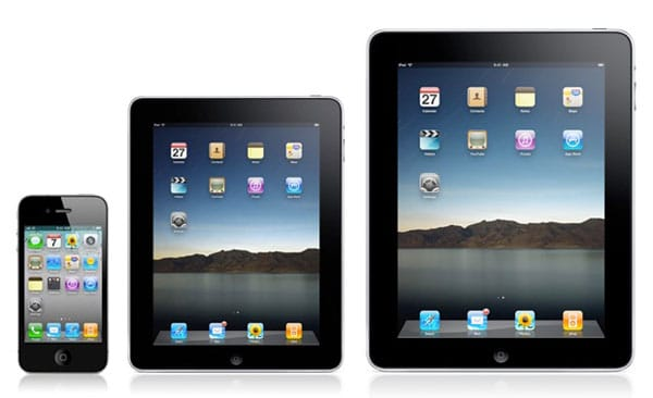 2012 mini iPad is smaller and confusing