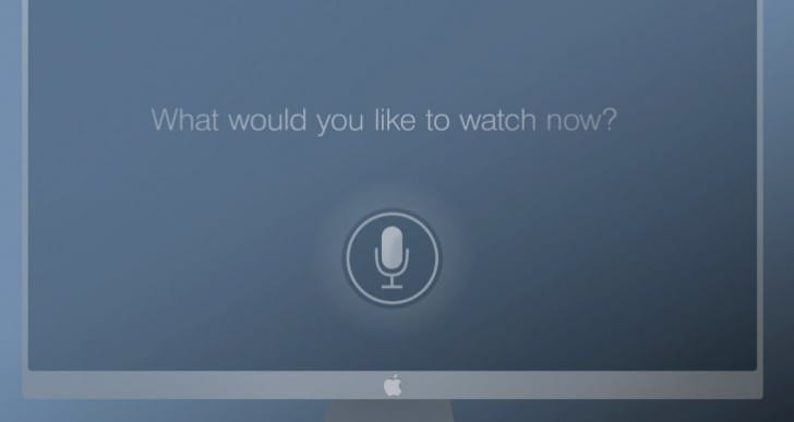 2013 Apple TV update, new Siri control visualized
