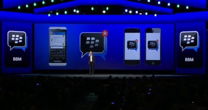BBM for iPhone vs. Android review preparation