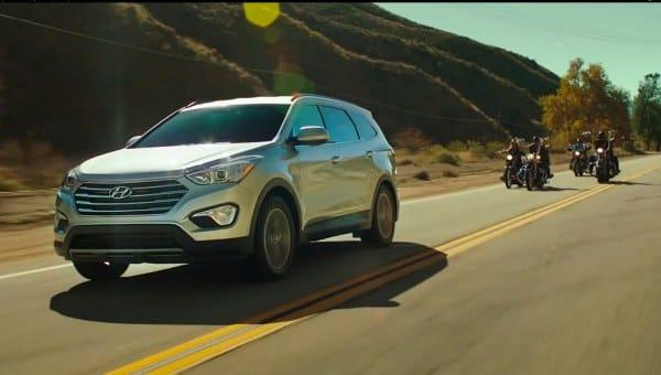 2013 Hyundai Santa Fe seven-seat Super Bowl commercial