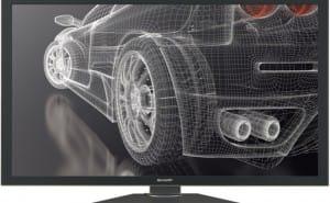 2013 Mac Pro availability through 4K Sharp Display