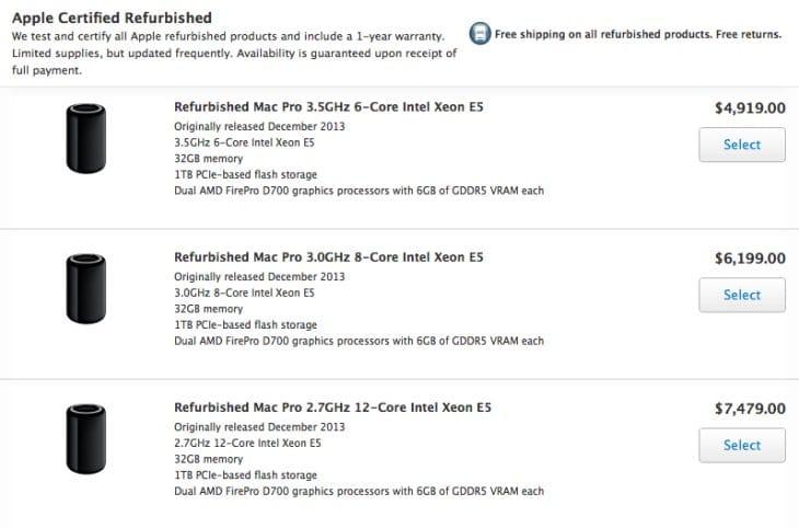 2013 Mac Pro price drop