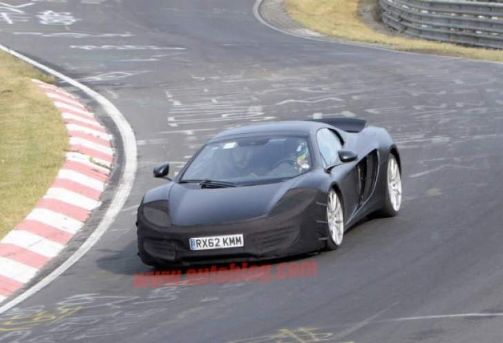 2013 McLaren MP4-12C minor facelift and upgrade