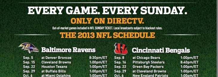 2013-NFL-Sunday-Ticket-Schedule